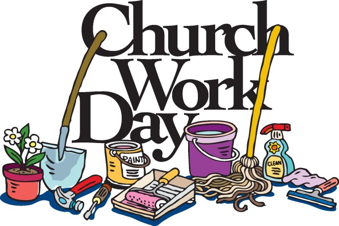 Church Work Day: Parish Clean-Up Spring 2016